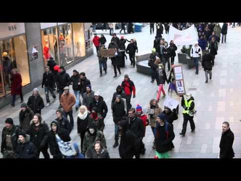 ACTA Demonstration in Stockholm, Sweden | 11th February 2012