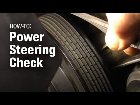 How To Check Your Power Steering System – AutoZone Car Care