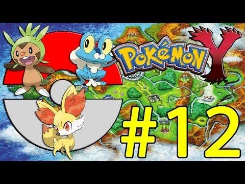Pokemon Y Walkthrough (Cyllage City Gym & Gym Leader Grant Pt. 12)
