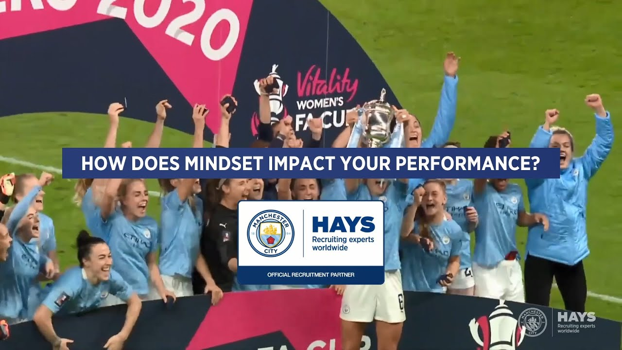 How does mindset impact Man City players performance?