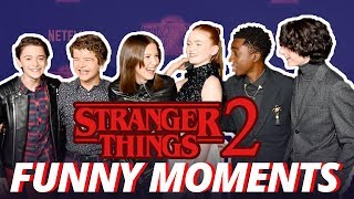 Stranger Things | Season 2 Comic Con - Cute & Funny Moments