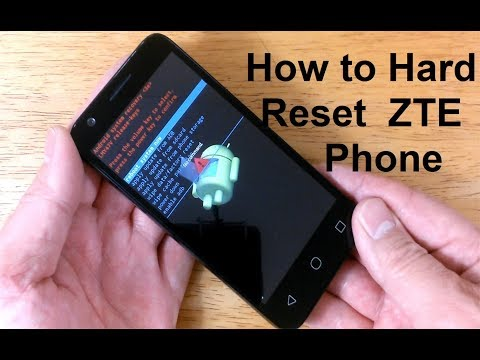 How to reset ZTE Phone to factory settings - How to open LOCKED Android phone ZTE Reset