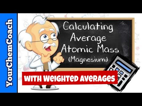 Calculating Relative Atomic Mass and Weighted Averages