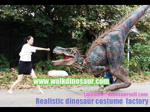 Realistic raptor costume for sale