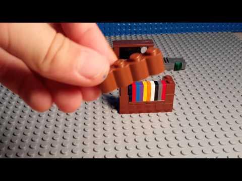How To Build A Lego Book Shelf