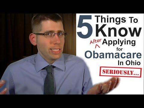5 Things to Know After Applying for Obamacare in Ohio
