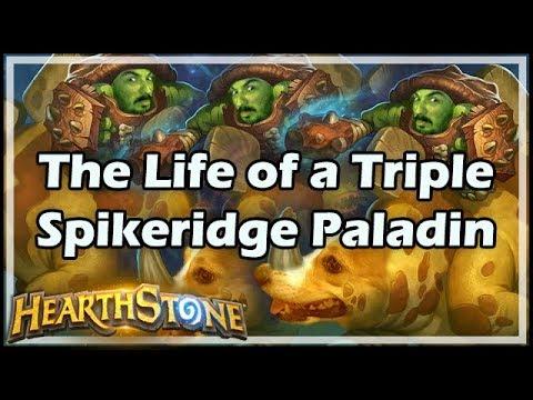[Hearthstone] The Life of a Triple Spikeridge Paladin