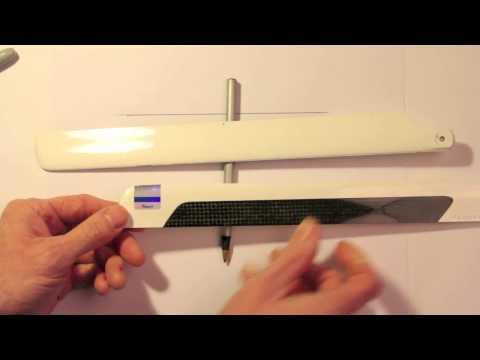29 : Tarot 450 Pro V2 Build : Blade Center of Gravity & Balancing