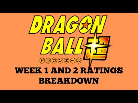 Dragon Ball Super TV Ratings Breakdown for Weeks 1 and 2 + Explaining How Ratings Work