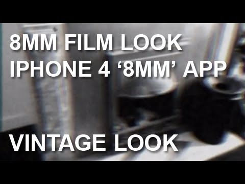 iPhone 8mm App | Old 8mm Film Look Effect | Imitation | Aged Film Look Color Correction
