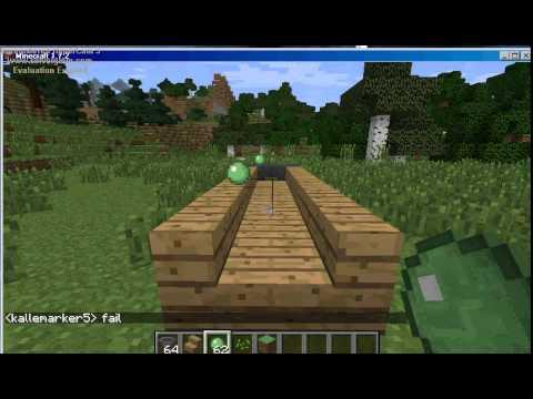 Minecraft how to make SLIMEBALL FUN!