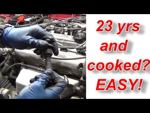 Stuck Spark Plug Boot / Wire Fix By Professional Mechanic