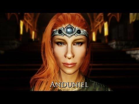 Anduniel - Quest Aware Custom Voiced Follower - Skyrim Mod