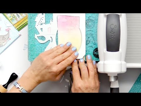 How to Make a Fun Happy Happen Card | Sizzix