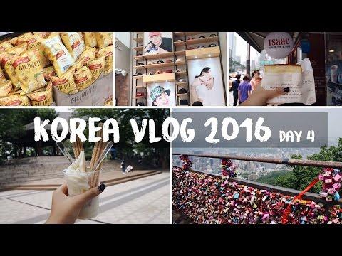 SEOUL, KOREA VLOG 2016 | Myeongdong Shopping, Namsan Tower & Lotte Mart Adventures!!
