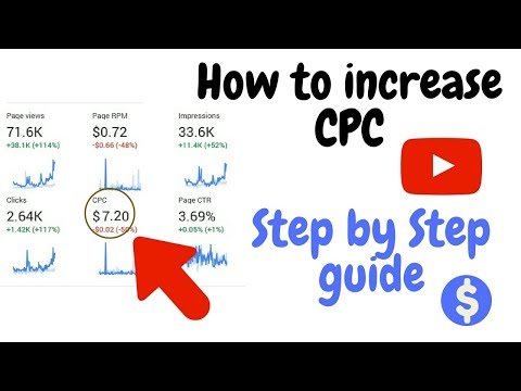 How to increase CPC $7.5 | More CPC More Earning from Adsense|