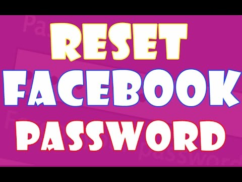 How to Reset Your Facebook Password Without Email Phone Number and Current Password 100% working