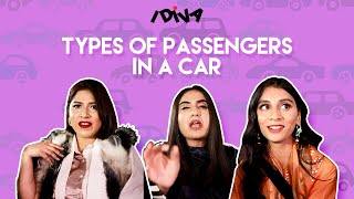 iDIVA - Types Of Passengers In A Car | Types Of Girls During Cab Rides