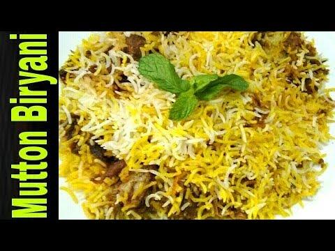Hyderabadi Mutton Biryani Bengali recipe|Dum Biryani