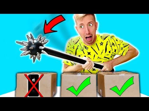 DO NOT REKT My iPHONE X in REAL LIFE Challenge!