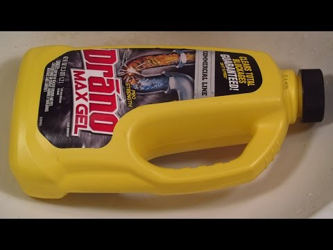 I CAN'T BELIEVE this stuff WORKS: how to UNCLOG your SINK DRAIN with DRANO MAX GEL CLOG REMOVER!