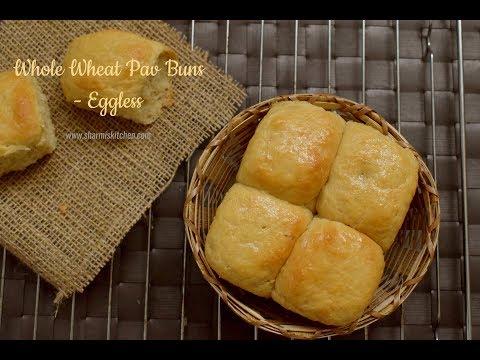 Whole Wheat Pav Buns