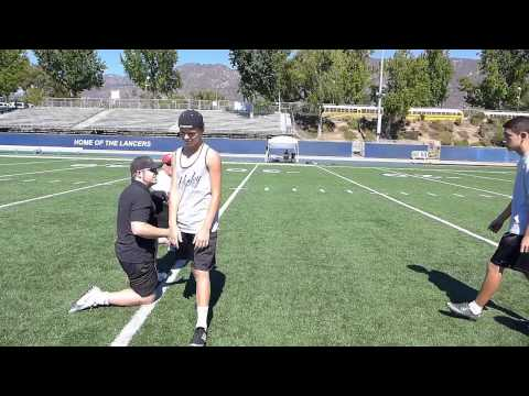 Wizard Sports Kicking and Punting Leg Lock Speed Bag