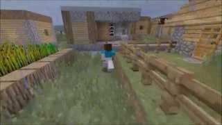 Minecraft Movie - Zombie Apocalypse - SaltyFishProductions!
