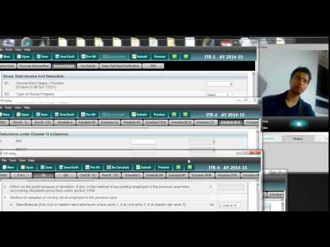 HOW TO SELECT TAX RETURN FOR NRI | AY 2014 15 | SELECTION OF TAX RETURN