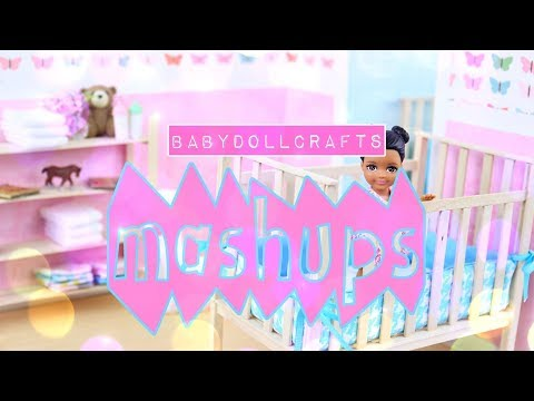 Mash Ups: How to Make Baby Doll Crafts | Doll Crib | Baskets & Bassinets | Playground and More