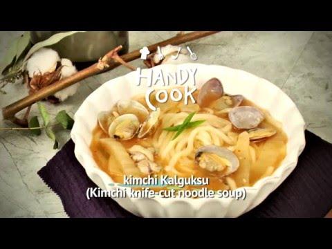 Kimchi Kalguksu (Kimchi knife-cut noodle soup/김치칼국수)_Koreanfood recipe(영어자막)ENG ver.
