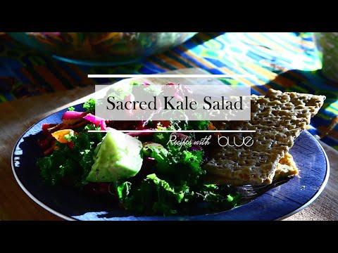 Sacred Kale Salad : Recipes with Blue
