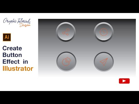 Adobe Illustrator Tutorial: How to create Button Effect