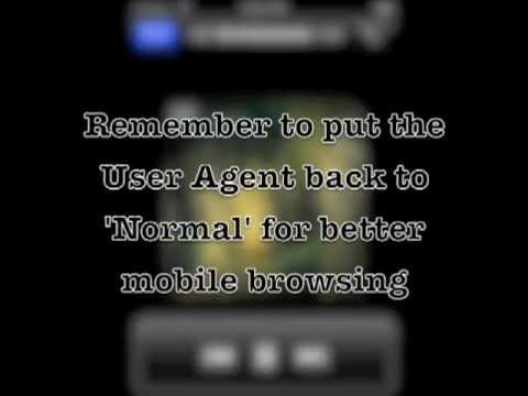 Smart Tab Browser iOS app User Agent