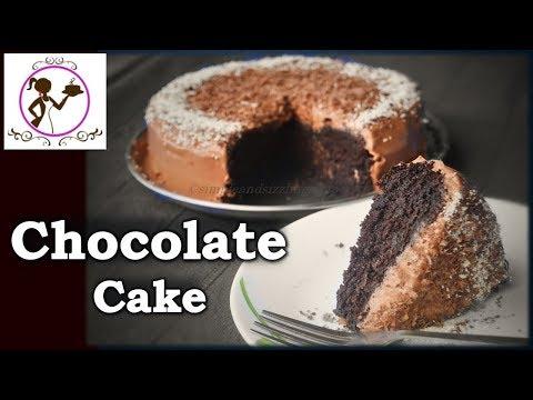 Eggless Chocolate Cake Recipe | Super Moist Chocolate Cake in Pressure Cooker