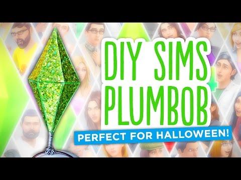 DIY Sims Diamond/Plumbob - Easy Halloween Costume!