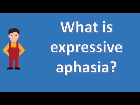 What is expressive aphasia ? | Protect your health - Health Channel