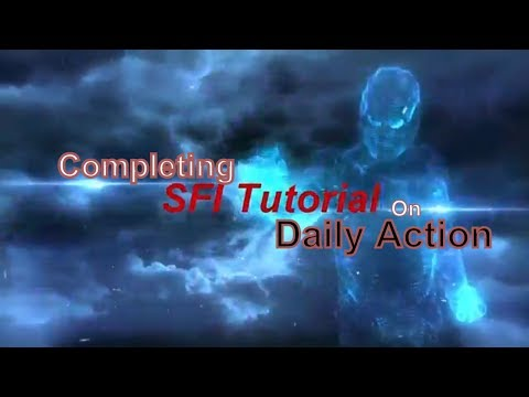 SFI Affiliate || How TO Complete Daily Action On PC