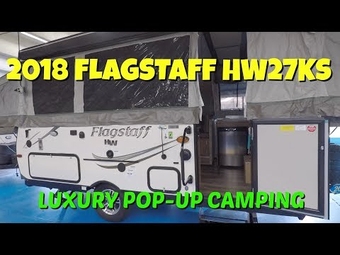 2018 Flagstaff HW27KS Pop Up Camper at Camping World RV Show