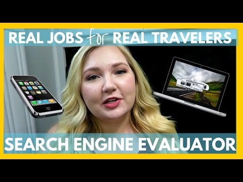 Search Engine Evaluator | Work From the Road | Real Jobs for Real Travelers