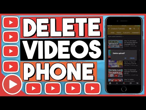 How To Delete YouTube Videos On Phone 2018 (EASY)