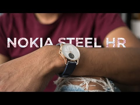 Nokia Steel HR smartwatch Review
