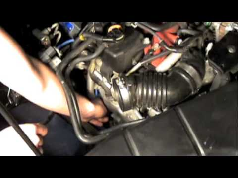 Changing Spark plugs on a subaru