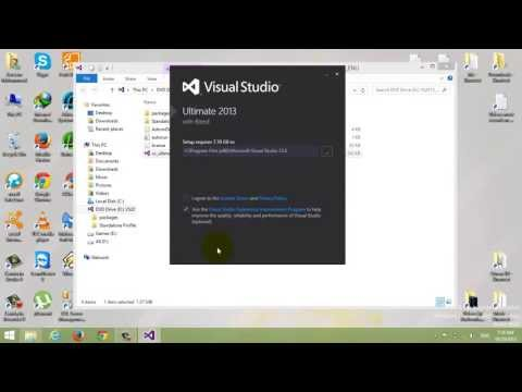 شرح تثبيت Visual Studio 2013 Ultimate خطوة بخطوة