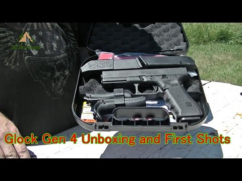 Glock17 Gen4 Unboxing and First Shots
