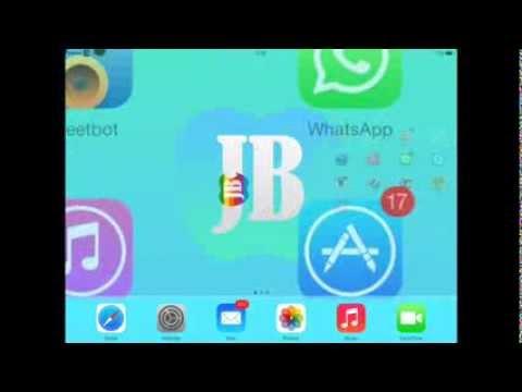 WhatsApp on iPad iOS 7