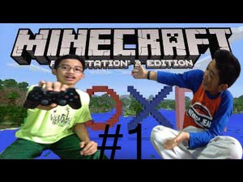 Ayo Main Minecraft PS3 : Dual Survival #1 Lebih Susah, Bahasa Indonesia