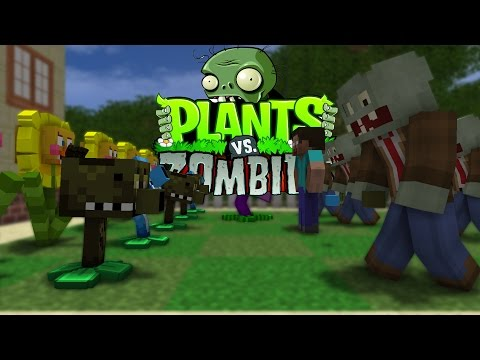 FNAF vs Mobs: Plants vs Zombies Challenge - Monster School (Five Nights At Freddy's)