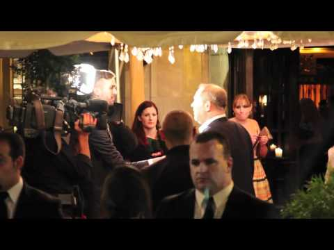 Harvey Weinstein Arrives at the 2010 TIFF InStyle Party.