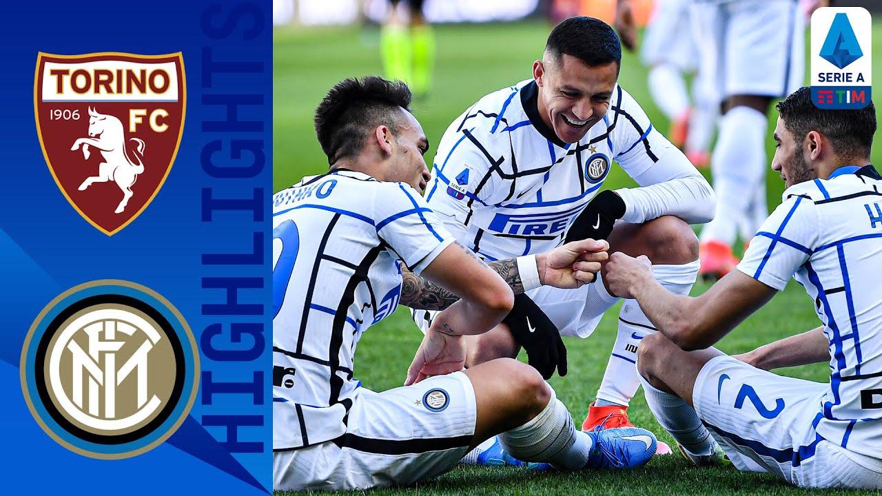 Torino 1-2 Inter   Martinez Strike Seals Win as Inter Leave it Late   Serie A TIM